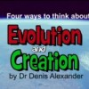 Four ways to think about Evolution and Creation
